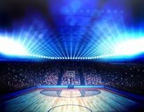 Basketball arena Royalty Free Stock Photos