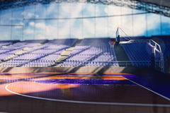 Basketball arena render Royalty Free Stock Photo