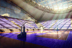Basketball arena render Stock Photo