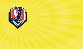 Basketball-Ausbildungslager-Visitenkarte lizenzfreie abbildung