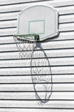 Basketball backboard gym Stock Photography