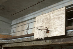 Basketball backboard and net Royalty Free Stock Photo