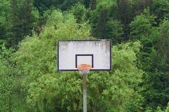 Basketball backboard. Stock Images