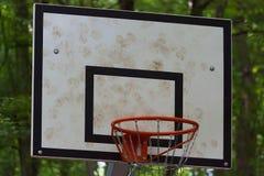 Basketball backboard Stock Photography