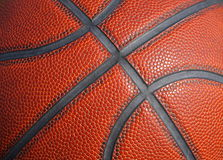 Basketball Background. Close up detail of a basketball for background Stock Photos