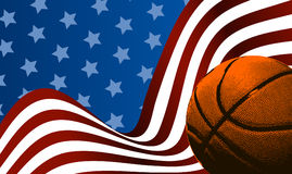 Basketball background ball Royalty Free Stock Images