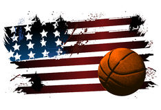 Basketball background ball Stock Image