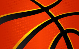 Basketball Background. A vector background of a basketball illustration Royalty Free Stock Photography