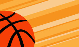 Basketball Background. A vector background of a basketball illustration Stock Images