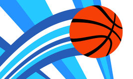 Basketball Background. A vector background of a basketball illustration Royalty Free Stock Images