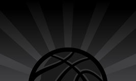 Basketball Background. A vector background of a basketball illustration Royalty Free Stock Photos