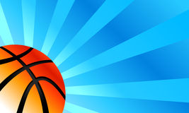 Basketball Background. A vector background of a basketball illustration Royalty Free Stock Photo