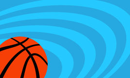 Basketball Background. A vector background of a basketball illustration Stock Photos