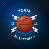 Basketball badges logos and labels for any use Royalty Free Stock Images