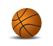 Basketball Ball 1. Vector illustration Basketball Ball 1 Stock Illustration