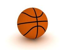 Basketball ball. 3d render of an orange basketball ball stock illustration
