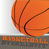 Basketball. Ball on asbstract special background Royalty Free Stock Images