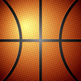 Basketball ball background stock illustration