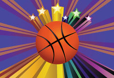 Basketball Ball Background Royalty Free Stock Photography