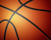 Basketball ball background Royalty Free Stock Photos
