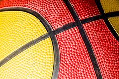 Basketball ball background. Red an orange basketball ball background Stock Photos