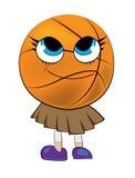 Basketball ball cartoon Stock Images