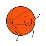Basketball ball cartoon Stock Photo