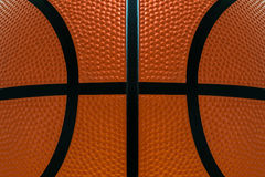 Basketball ball detail leather surface texture background Royalty Free Stock Photos