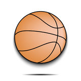 Basketball ball icon Royalty Free Stock Photos