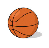 Basketball ball Illustration Royalty Free Stock Photography