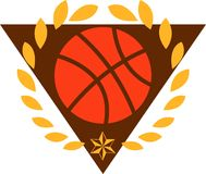 Basketball Logo Royalty Free Stock Photo