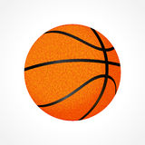 Basketball ball illustration Stock Photography