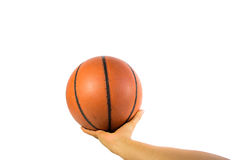 Basketball ball Royalty Free Stock Photo