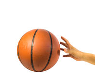 Basketball ball Royalty Free Stock Images