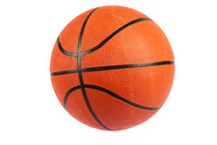 Basketball ball. Isolated in white background royalty free stock photos