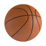 Basketball ball isolated Royalty Free Stock Photo