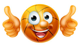 Basketball Ball Man Cartoon Character Royalty Free Stock Images