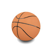Basketball ball over white background Stock Photos