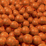 Basketball ball pool Royalty Free Stock Photo