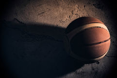 Basketball. Ball sport shot objects Royalty Free Stock Photos