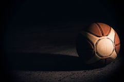 Basketball. Ball sport shot objects Stock Images