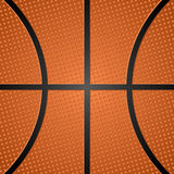Basketball ball texture 2 Stock Images