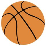 Basketball ball vector Royalty Free Stock Images