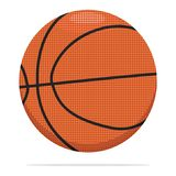 Basketball ball vector icon. Sport ball concept illustration. Orange ball realistic style design, designed for web and. App. Eps 10 stock illustration