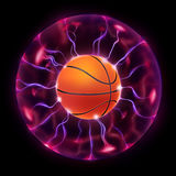 Basketball Ball Wheel Stock Photo
