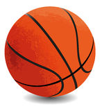 Basketball ball. On a white background Royalty Free Stock Images