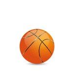 Basketball Ball  on White Background Stock Photos