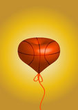 Basketball balloon Stock Images