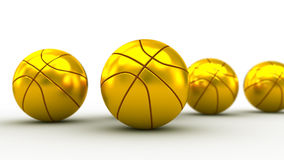 Basketball balls Royalty Free Stock Photo