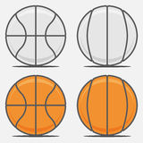 Basketball Balls for your Team Logo Stock Photography
